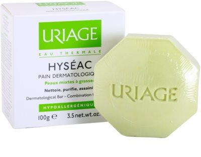 Uriage Hyséac мило для змішаної та жирної шкіри 1