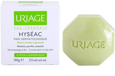 Uriage Hyséac мило для змішаної та жирної шкіри 2