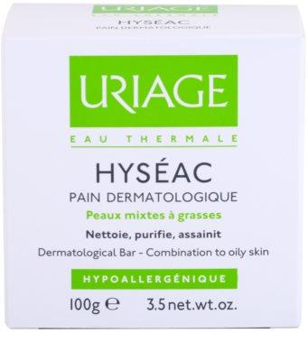 Uriage Hyséac мило для змішаної та жирної шкіри 3