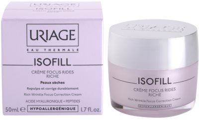 Uriage Isofill crema antiarrugas para pieles secas 1