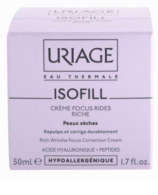 Uriage Isofill ránctalanító krém száraz bőrre 2