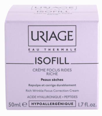 Uriage Isofill crema antiarrugas para pieles secas 2
