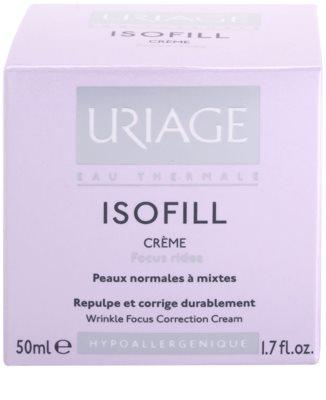 Uriage Isofill Anti-Faltencreme für normale Haut und Mischhaut 2