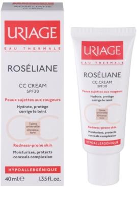 Uriage Roséliane krem CC do skóry wrażliwej ze skłonnością do przebarwień 1