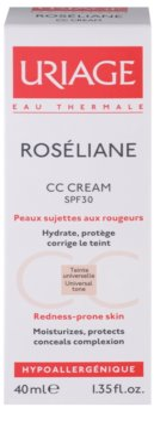 Uriage Roséliane krem CC do skóry wrażliwej ze skłonnością do przebarwień 3