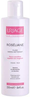 Uriage Roséliane fluido de limpeza para a pele sensível com tendência a aparecer com vermelhidão