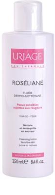 Uriage Roséliane очищуючий флюїд для чутливої шкіри схильної до почервонінь