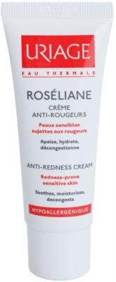 Uriage Roséliane creme de dia para a pele sensível com tendência a aparecer com vermelhidão