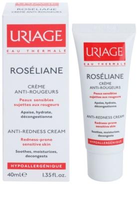 Uriage Roséliane crema de día para pieles sensibles con tendencia a las rojeces 1