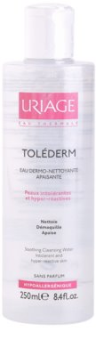 Uriage Toléderm água facial de limpeza  para a pele intolerante