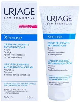 Uriage Xémose fettende beruhigende Creme für sehr trockene, empfindliche und atopische Haut 1