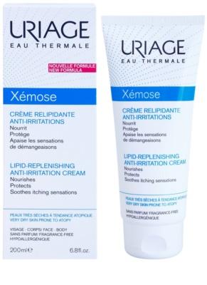 Uriage Xémose crema calmante relipidante para pieles muy secas, sensibles y atópicas 1