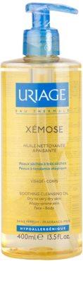 Uriage Xémose aceite limpiador calmante  para rostro y cuerpo