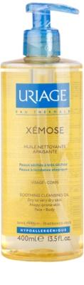Uriage Xémose pomirjajoče čistilno olje za obraz in telo