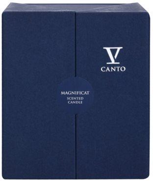 V Canto Magnificat vela perfumado 2
