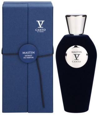 V Canto Mastin extrato de perfume unissexo