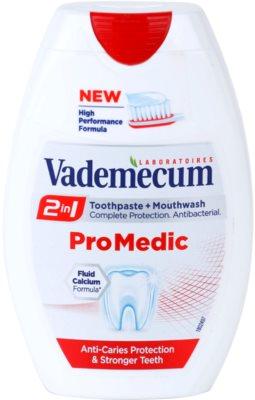Vademecum 2 in1 Pro Medic fogkrém + szájvíz egyben