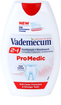 Vademecum 2 in1 Pro Medic Zahnpasta + Mundwasser alles in einem