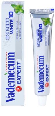 Vademecum Expert Express White 10 Zahnpasta mit bleichender Wirkung 1