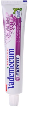 Vademecum Expert Non-Stop White відбілююча паста проти плям на зубній емалі