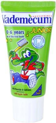 Vademecum Junior Zahnpasta für Kinder ab der Geburt mit Apfel-Geschmack