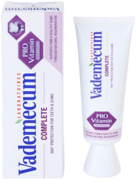 Vademecum Pro Vitamin Complete zubní pasta 2