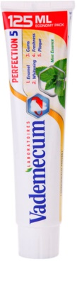 Vademecum Perfection 5 dentífrico branqueador para proteção completa de dentes