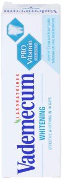 Vademecum Pro Vitamin Whitening зубна паста з відбілюючим ефектом 3