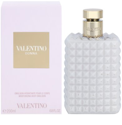 Valentino Donna leite corporal para mulheres