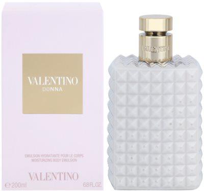 Valentino Donna тоалетно мляко за тяло за жени