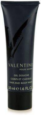 Valentino V pour Homme gel de duche para homens