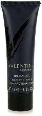 Valentino V pour Homme gel de dus pentru barbati