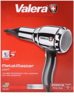 Valera Hairdryers Swiss Metal Master Light secador de pelo 4