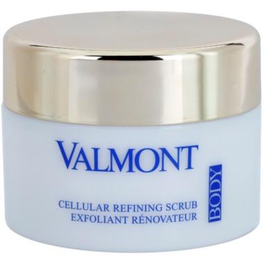 Valmont Body Time Control výživný peelingový krém na tělo