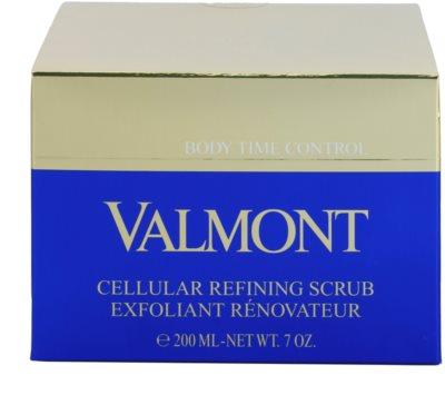 Valmont Body Time Control crema exfoliante nutritiva para cuerpo 3