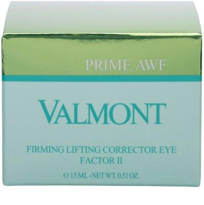 Valmont Prime AWF околоочен лифтинг крем 2