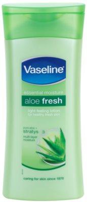 Vaseline Aloe Fresh tělové hydratační mléko s aloe vera
