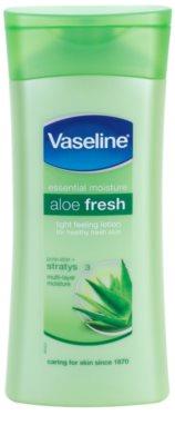 Vaseline Aloe Fresh хидратиращо мляко за тяло  с алое вера