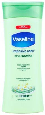 Vaseline Aloe Soothe hidratáló testápoló tej aleo verával
