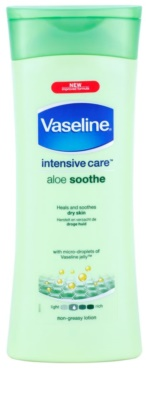 Vaseline Aloe Soothe leite corporal hidratante com aloe vera