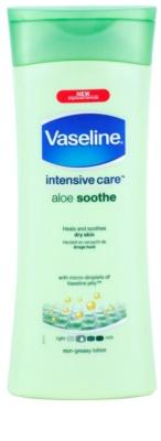 Vaseline Aloe Soothe зволожуюче молочко для тіла з алое вера