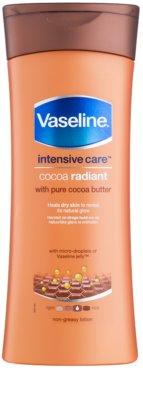 Vaseline Cocoa Radiant hidratáló testápoló tej kakaóvajjal