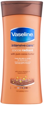 Vaseline Cocoa Radiant leche corporal hidratante con manteca de cacao