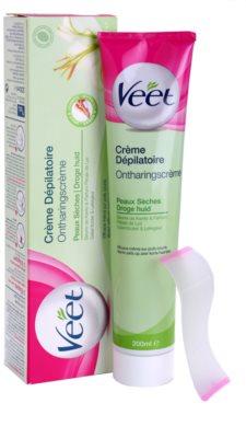 Veet Depilatory Cream depilační krém pro suchou pokožku 1
