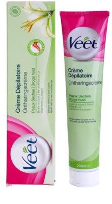 Veet Depilatory Cream depilační krém pro suchou pokožku 2
