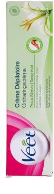 Veet Depilatory Cream depilační krém pro suchou pokožku 3