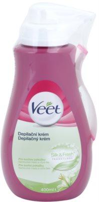 Veet Depilatory Cream Hidratáló krém Szőrtelenítő száraz bőrre