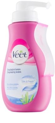 Veet Depilatory Cream крем за депилация  за чувствителна кожа