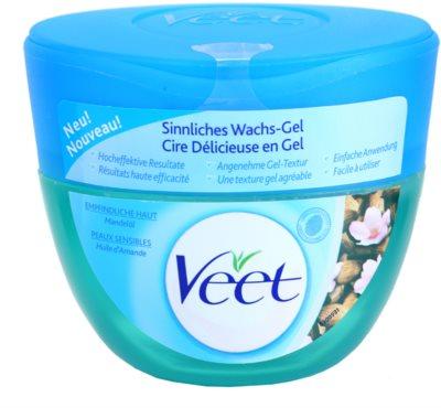 Veet Depilatory Gel gélový vosk pre citlivú pokožku