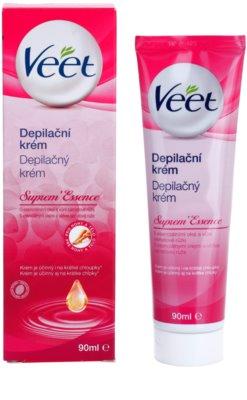 Veet Suprem'Essence depilacijska krema z eteričnimi olji 2